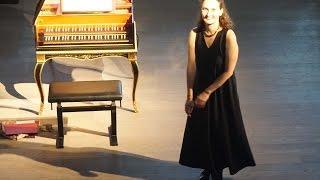 Béatrice Martin harpsichord recital 12 November 2006,  Cité de la Musique, Paris, France