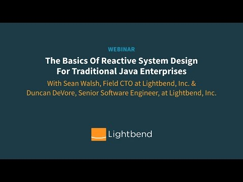 The Basics Of Reactive System Design For Traditional Java Enterprises