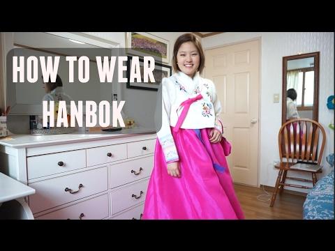 How to Wear Hanbok, Korean Traditional Dress