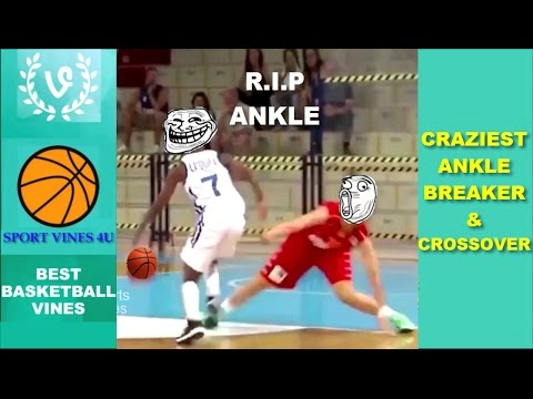 The CRAZIEST Ankle Breakers and Crossovers 2017 - Best Basketball Moments