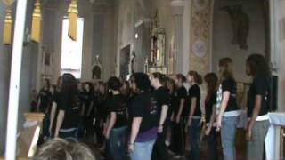 Bella Voce performs 4 The Lonely Goat Herd for children of Detsky Domov