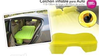 Colchón inflable para viajes y asiento trasero autos aPreciosdeRemate