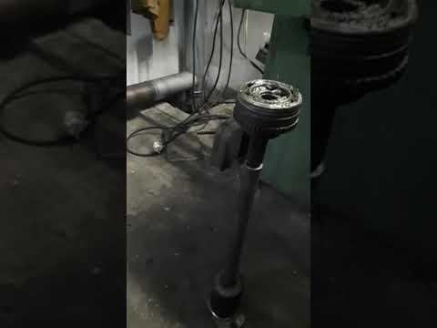 Chevrolet Aveo замена наружней гранаты