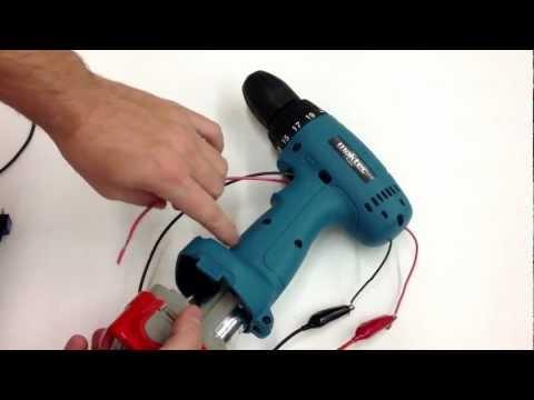 Tutoriel 5 - Électronique 1 - Moteur et batterie de perceuse