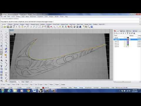 Rhino 3D Tutorial: Background Bitmap