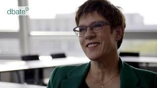 """Interview mit Annegret Kramp-Karrenbauer aus dem Film """"Die Notregierung"""""""