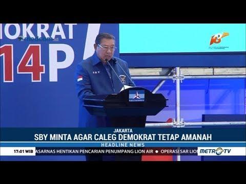 SBY Buka Pembekalan Caleg Partai Demokrat