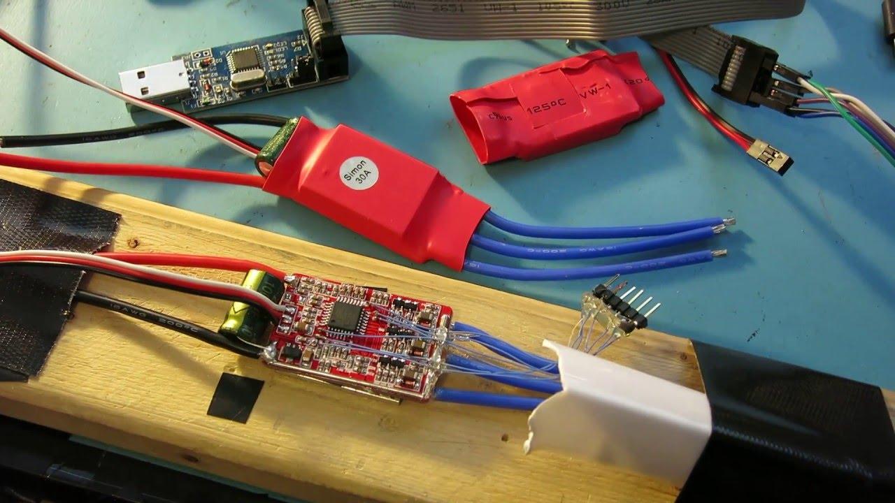 How to Upgrade eBay Red Wrapped SimonK 30A ESC