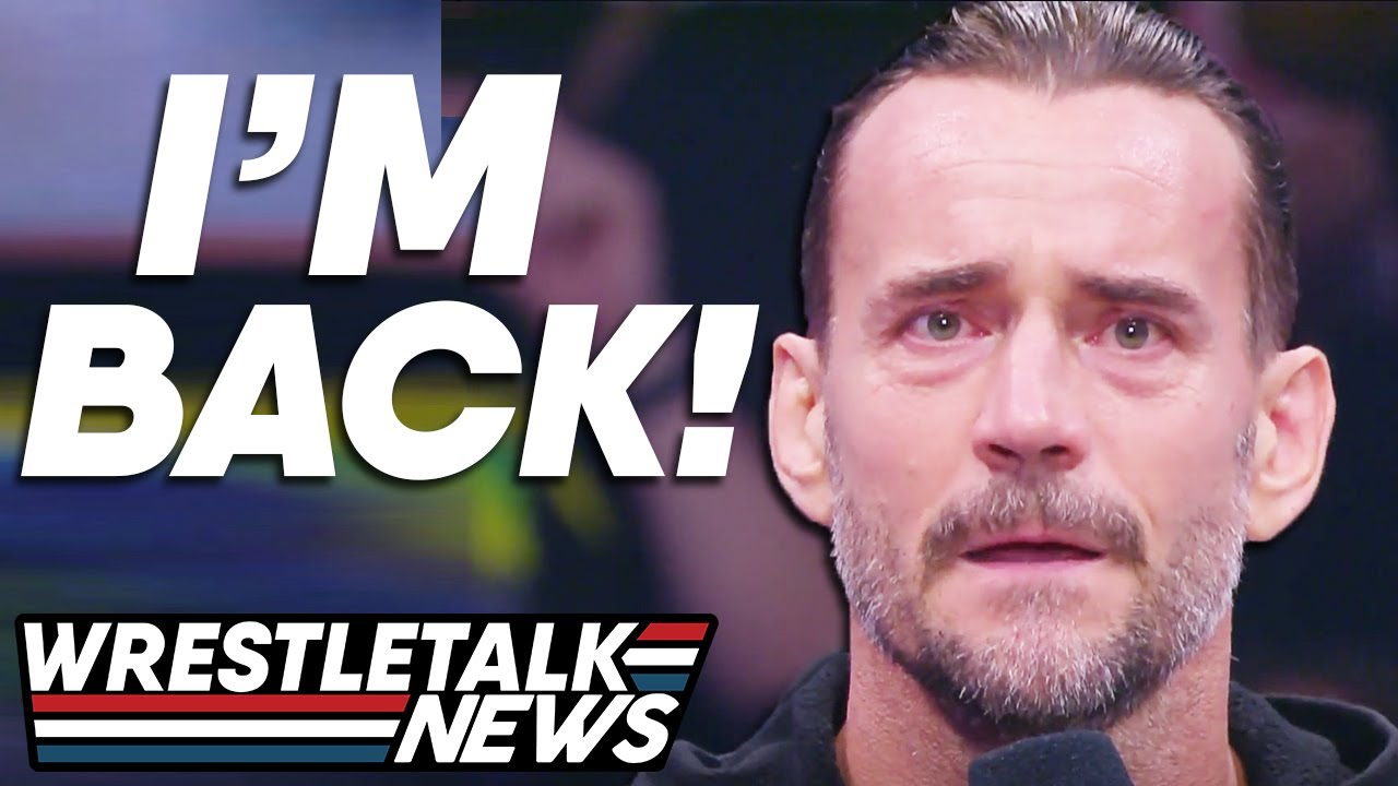 Former WWE Superstar CM Punk Debuts With AEW