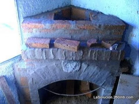 Estufa economica de ladrillos su construcci n youtube - Planos de chimeneas de ladrillo ...