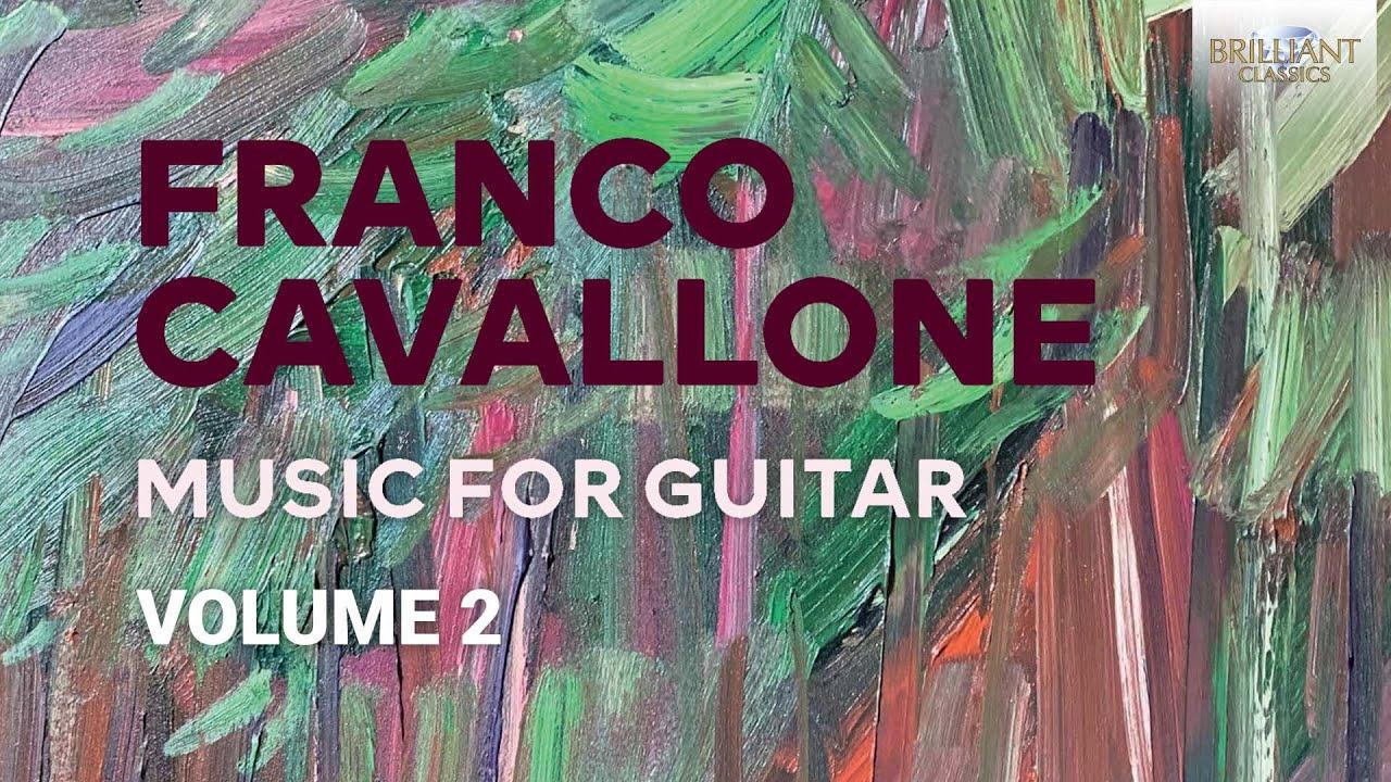 Cavallone Music For Guitar Volume 2