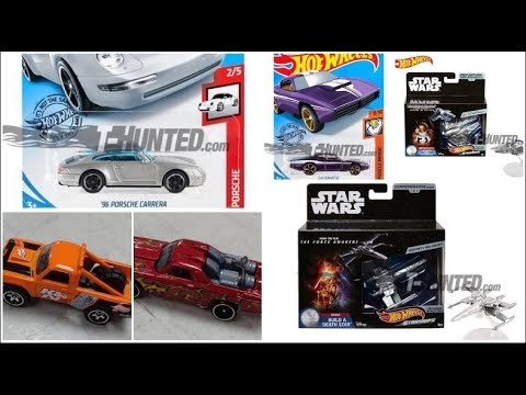 New Hot Wheels Porsche Carrera, Custom Otto and More! New Hot Wheels Starwars Movie Ships