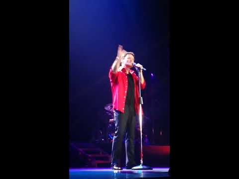 Donny Osmond This is the Moment Manchester 2017