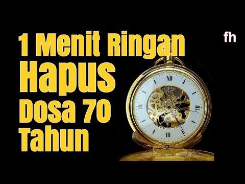 MASYA ALLAH..!! 1 MENIT Amalan Ringan Menghapus Dosa 70 Tahun | Khalid Basalamah