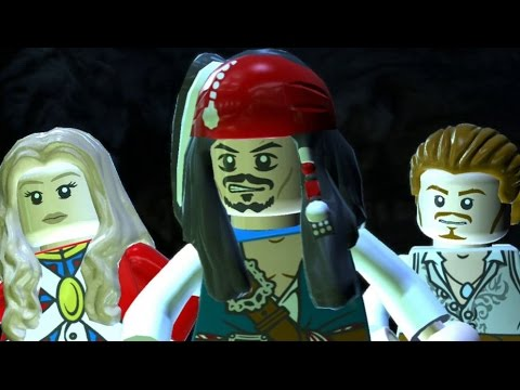 LEGO Pirates Of The Caribbean - 100% Guide #5 - Isla De Muerta (All Collectibles)