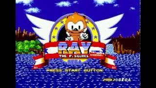 Ray the Flying Squirrel in Sonic the Hedgehog (Genesis) - Longplay
