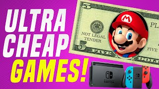 Play These Cheap Nintendo Switch Games Under $5 On Eshop!