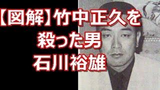 【図解】山口組組長竹中正久を殺害した男 ヤクザの鑑 石川裕雄 竹内照明の出世の道