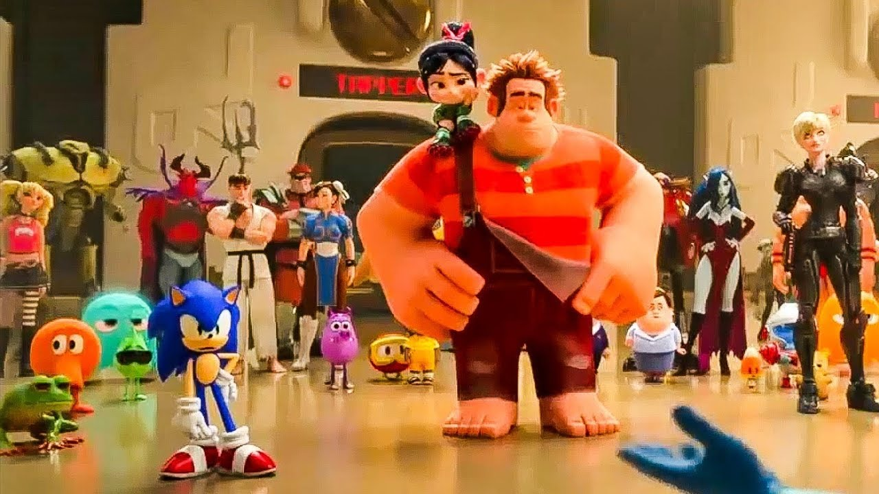 Wreck It Ralph 2 'Sonic The Hedgehog' Trailer (2018 ... Wreck It Ralph Trailer