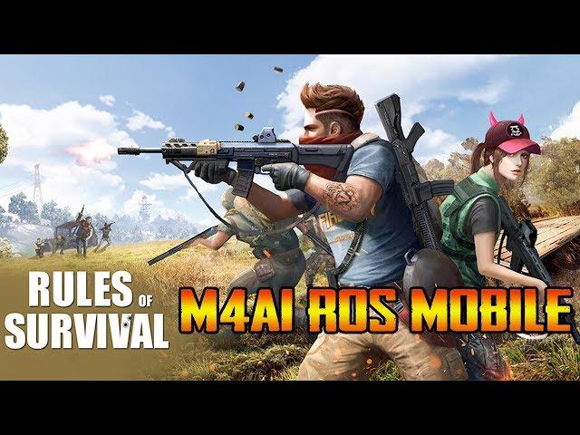 ROS Mobile : TOP 1 với M4A1 không cần tới Barrett - Quang Brave