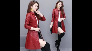 Кожаное пальто весенняя женская куртка из искусственной кожи осенняя мода локомотив кожаная