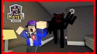 ROBLOX HOTEL a Camping 3 Story Mode SURVIVE THE NIGHT