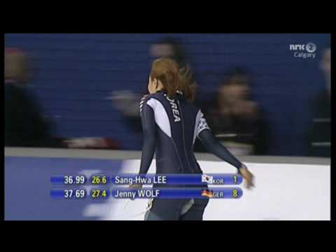 Sang Hwa Lee WR. 500m 36.99 Calgary 2013