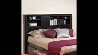 Bookcase Headboards - Storage Bookcase Headboard Selection