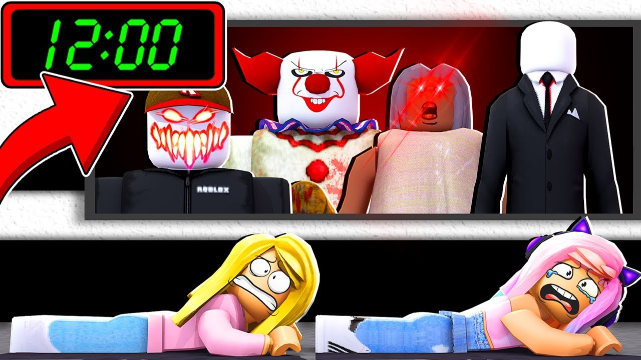 Dont Play Flee The Facility At 12 Am On Halloween Roblox Youtube