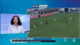 Baixar Campeonato Brasileiro, Santos se deu bem e saiu da zona de rebaixamento: Santos 3 x 0 Sport
