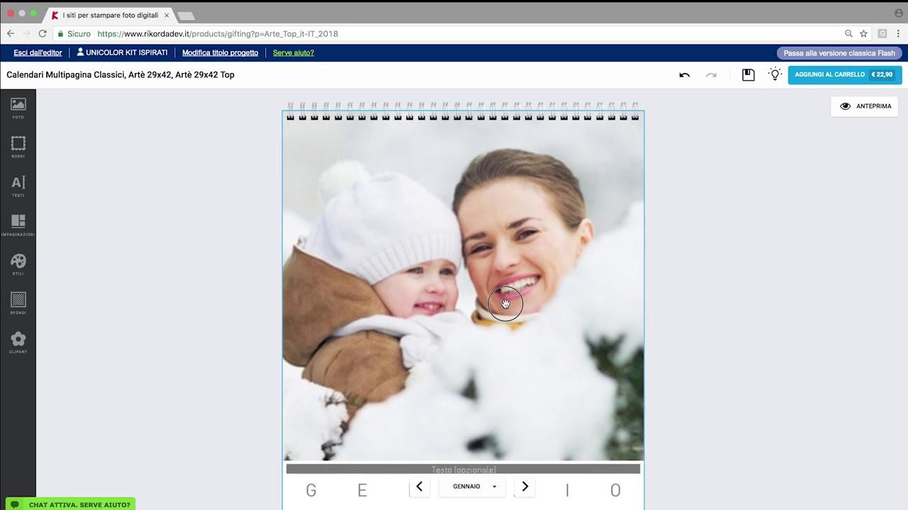 Come Creare Un Calendario Personalizzato.Come Creare Un Calendario Personalizzato Con Le Tue Foto Rikorda