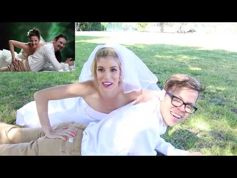 RECREATING CRINGY WEDDING PHOTOS!