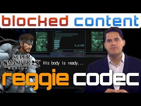 REGGIE vs Snake CODEC CALL Conversation (Super Smash Bros. Ultimate) thumbnail