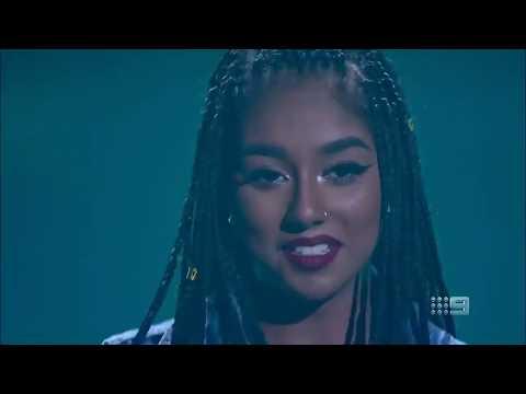 BLIND AUDITIONS Elsa Clement - Lose Yourself eminem the voice Australia 2019