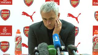 Video Jose Mourinho: The Game Was FANTASTIC! Arsenal 1-3 Manchester United download MP3, 3GP, MP4, WEBM, AVI, FLV Maret 2018
