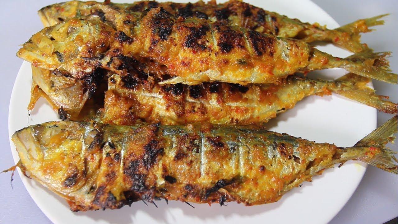 Resep Ikan Kembung Bakar Padang - YouTube