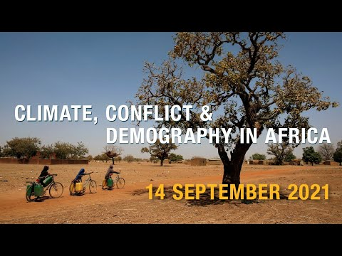 Session 1: Climate and demography: Managing Economic Pressures