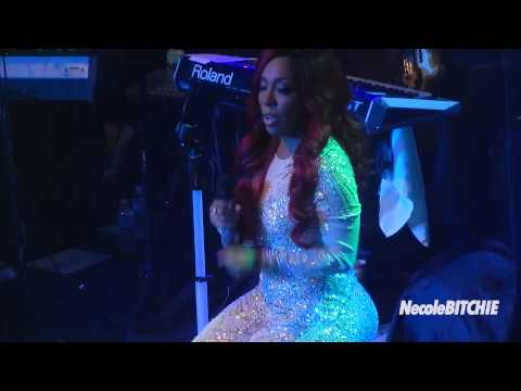 K. Michelle Cries While Singing 'Worst Man I Ever Had'