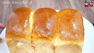 Bánh mì sữa Hokkaido Nhật Bản / soft and fluffy Hokkaido milk Bread luôn thành công by Vanh Khuyen