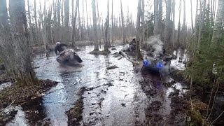 Весна, солнце, дождь, снег, вода, грязь и ATV... Красотища неописуемая..(Тестовый прокат маршрута к 9-му мая..., 2016-04-25T20:51:38.000Z)