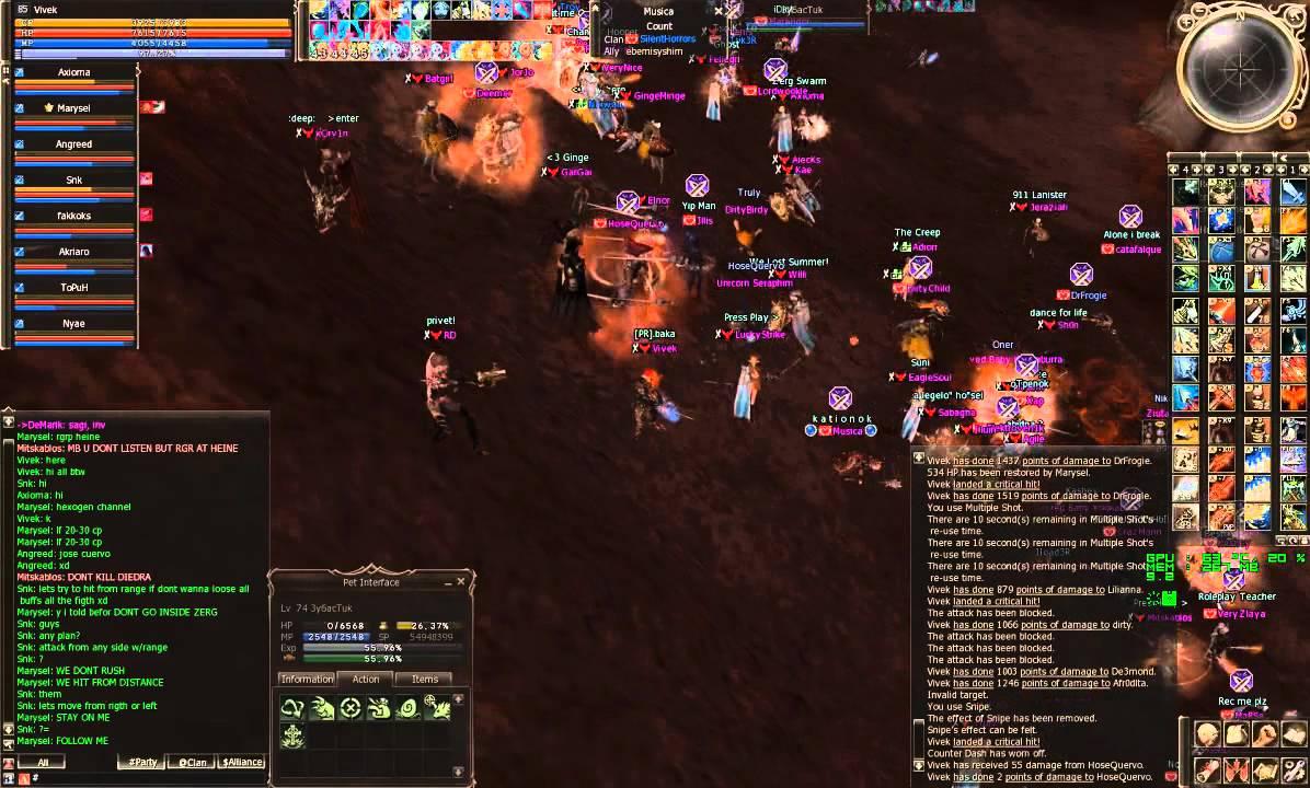 Clan vs Clan (RedSky vs SilentHorrors