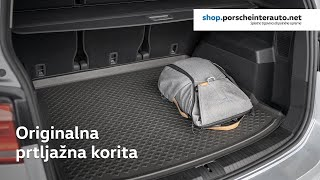 Originalna korita za prtljažnik avtomobila | Porsche Inter Auto