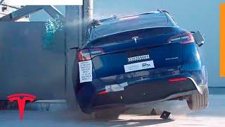Краш-тест новой Tesla Model Y. Каков же результат?