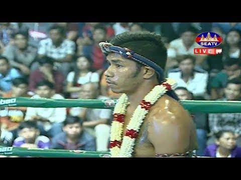 Yuk Yeakplae vs Petchsela(thai), Khmer Boxing Seatv 02 June 2018, Kun Khmer vs Muay Thai