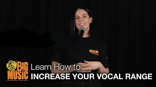 How to Increase Your Vocal Range