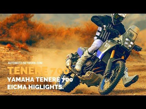 Yamaha Ténéré  World Raid Prototype | Launch Highlights at EICMA .