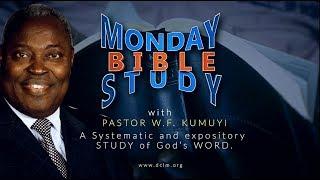 Bible Study (December 17, 2018): The Final Words of John