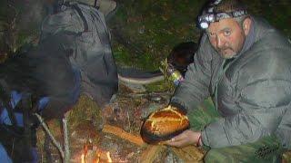хлеб в походе - методом проб и ошибок / Cooking of bread in the open fire. The evolution