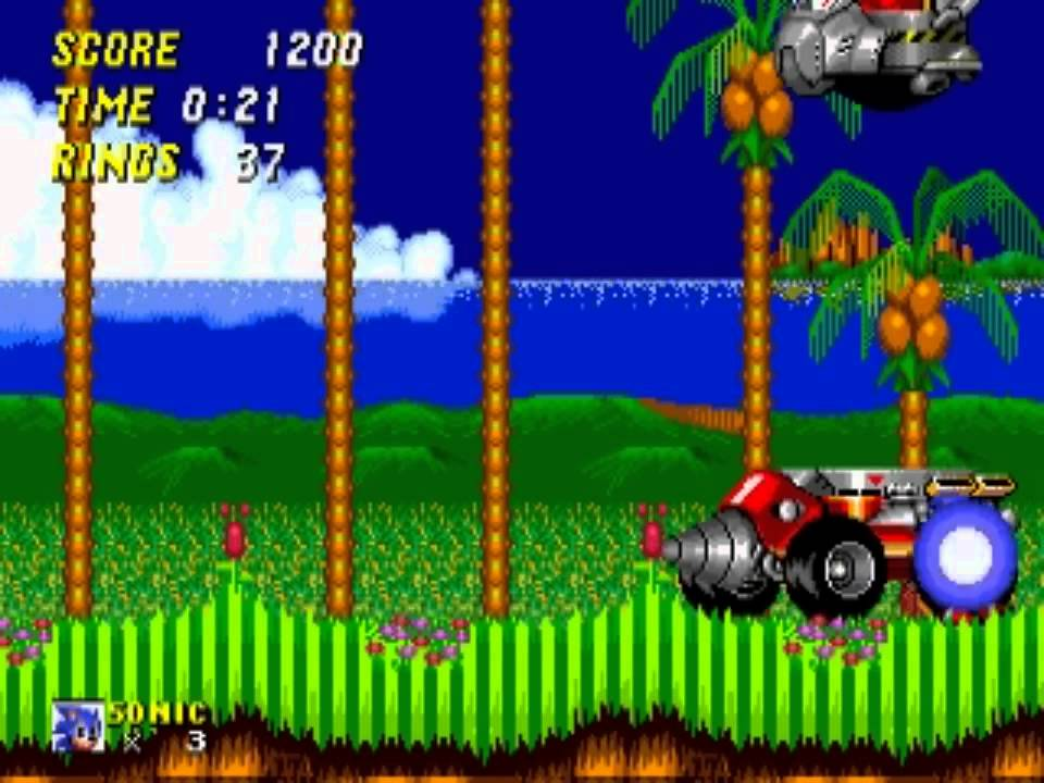 Sonic 2 Emerald Hill Zone Act 2 35 Seconds Youtube