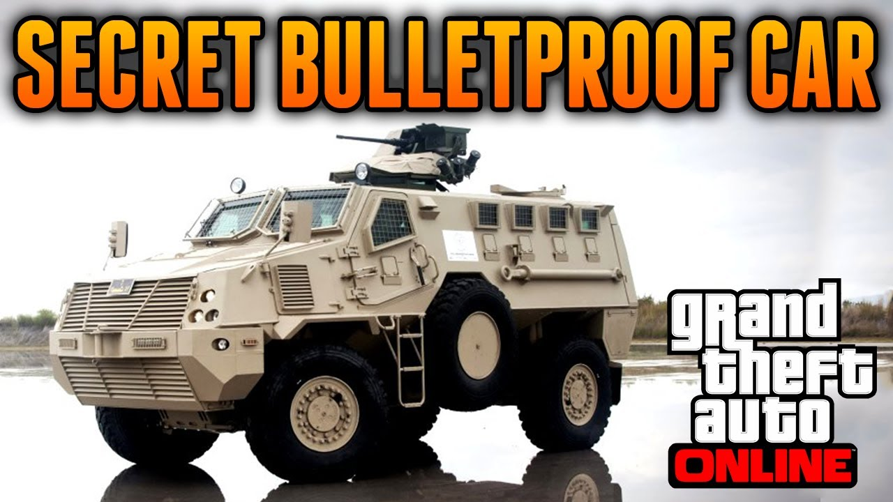GTA 5 Online  Secret Bulletproof Vehicle  Best Vehicle on GTA 5